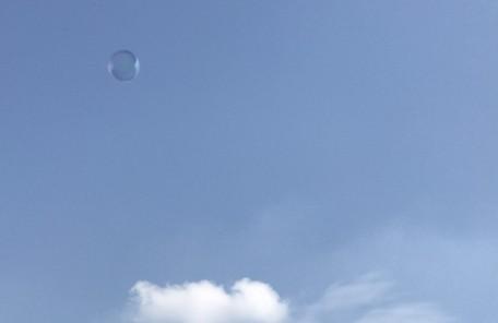 青空 雲 シャボン玉