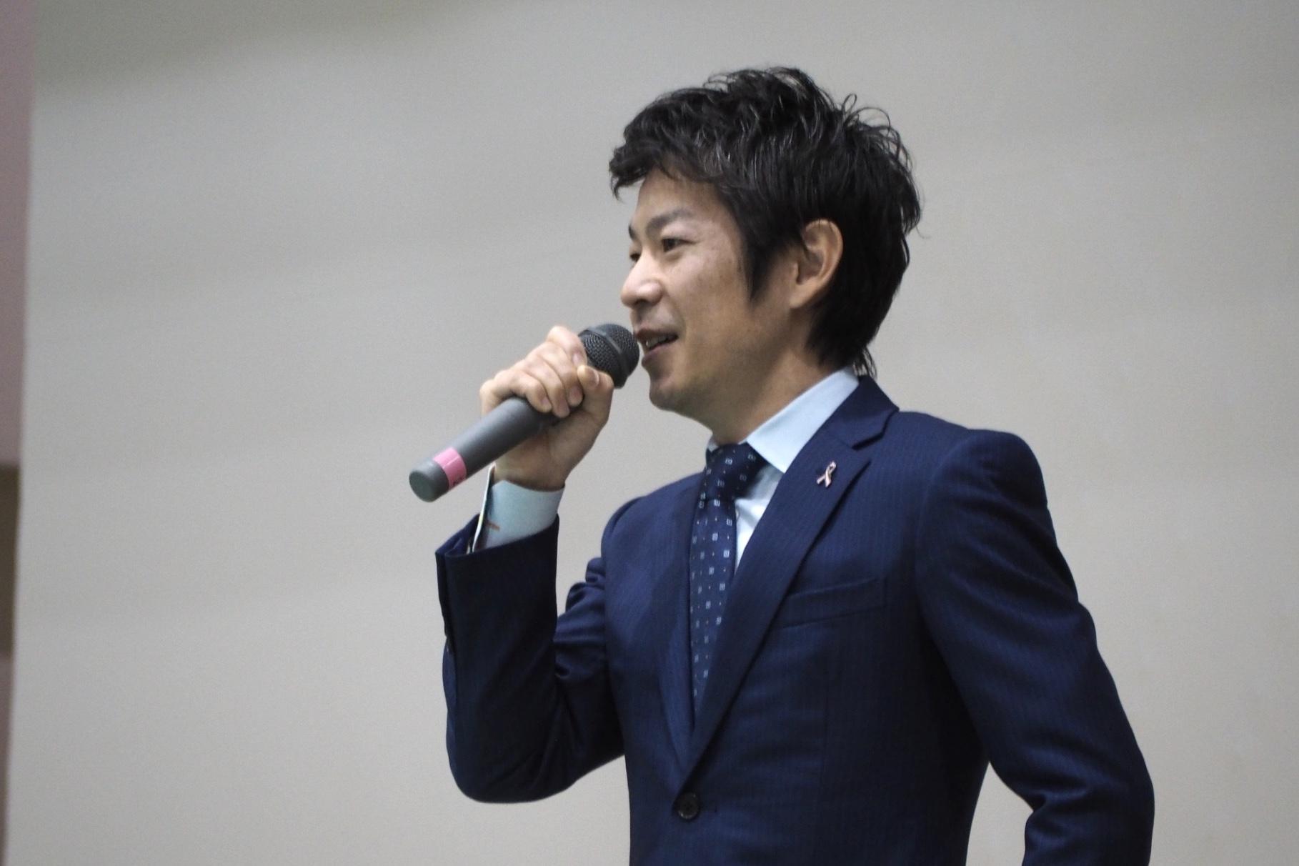高知県で清水健講演会