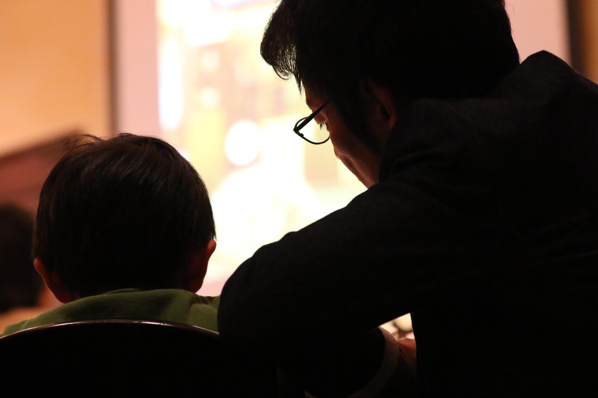 息子とパパの大切時間