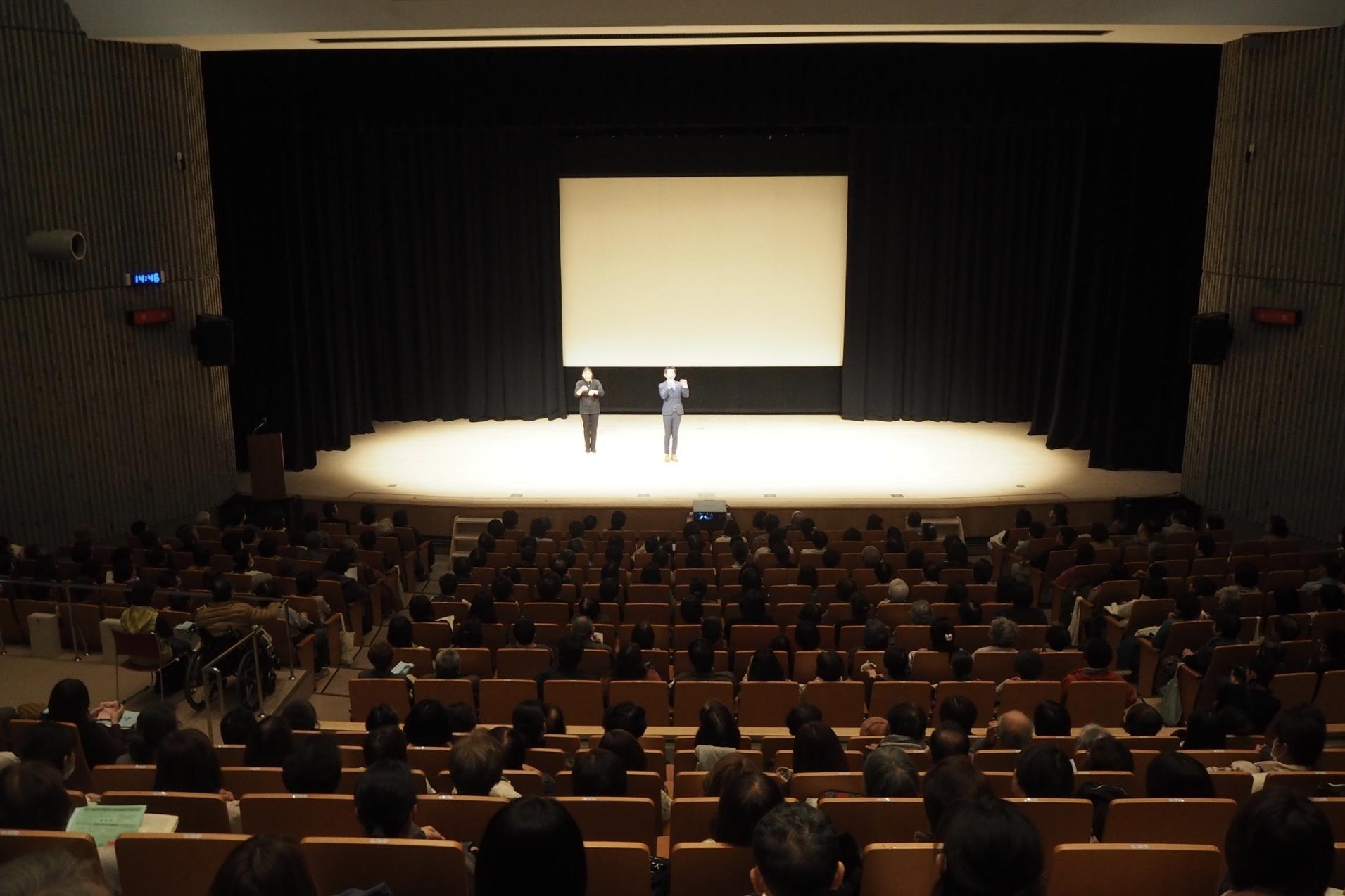 摂津市で清水健講演会