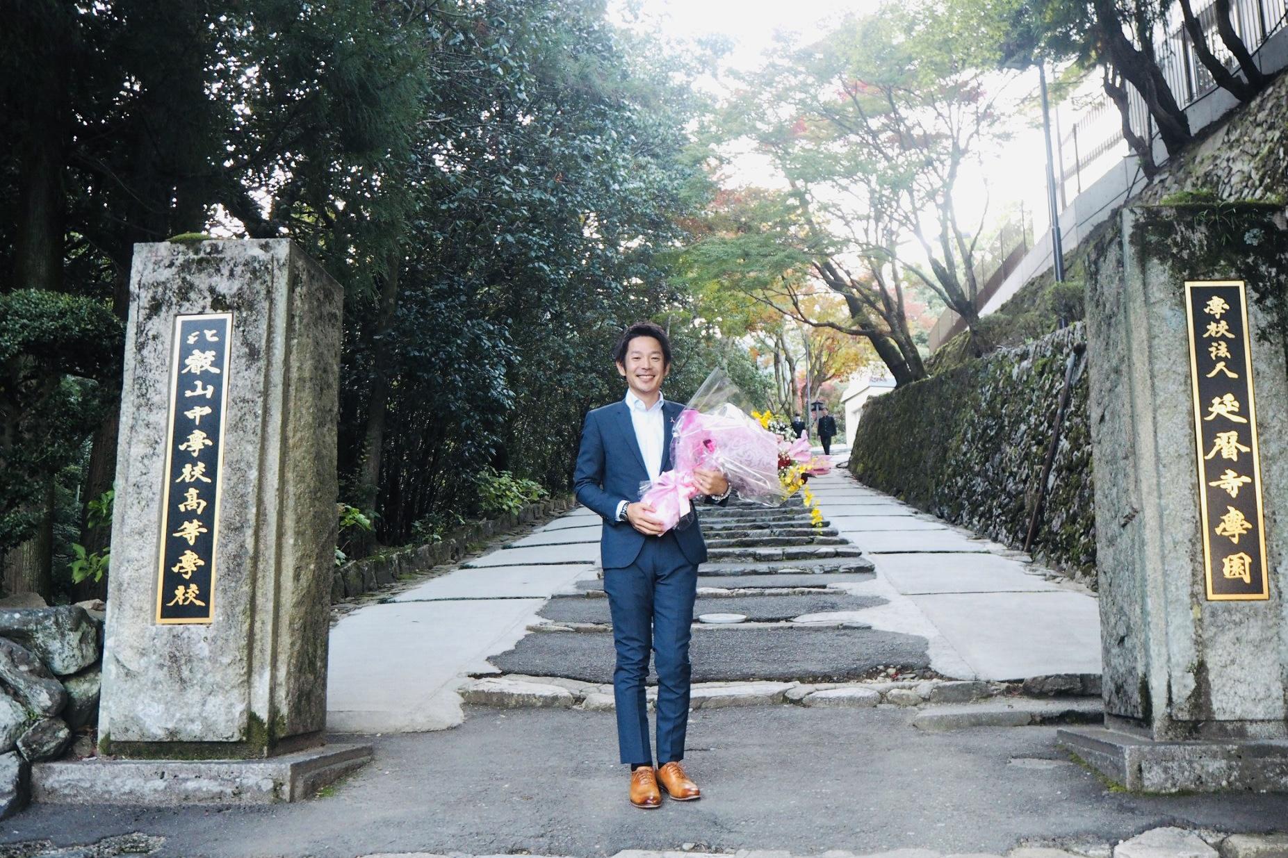 比叡山での清水健講演会