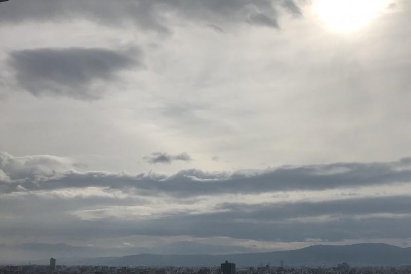 空 雲 太陽